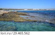 Купить «Ayia Napa Resort on the island of Cyprus», видеоролик № 29465562, снято 1 ноября 2018 г. (c) Володина Ольга / Фотобанк Лори