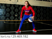 The Harlem Globetrotters are legendary worldwide, synonymous with... (2018 год). Редакционное фото, фотограф Dinendra Haria / WENN / age Fotostock / Фотобанк Лори