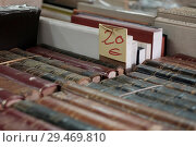 Купить «42nd Antique and Second-Hand Book Fair at Paseo de Recoletos in Madrid, Spain, which runs from 27 April until 15 May 2018. Featuring: atmosphere Where...», фото № 29469810, снято 30 апреля 2018 г. (c) age Fotostock / Фотобанк Лори