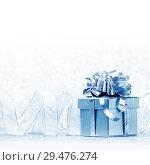 Купить «Gift box», фото № 29476274, снято 2 ноября 2013 г. (c) Иван Михайлов / Фотобанк Лори