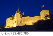 Купить «Chateau de Chateauneuf at dusk, France», фото № 29480786, снято 11 октября 2018 г. (c) Яков Филимонов / Фотобанк Лори
