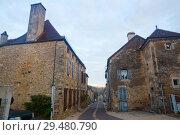 Купить «Cityscape of French town Bligny-sur-Ouche», фото № 29480790, снято 12 октября 2018 г. (c) Яков Филимонов / Фотобанк Лори
