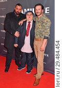 Купить «Premiere of 'Familiye' at Cinemaxx Potsdamer Platz Berlin Featuring: Kubilay Sarikaya, Muhammed Kirtan, Arnel Taci Where: Berlin, Germany When: 26 Apr 2018 Credit: AEDT/WENN.com», фото № 29484454, снято 26 апреля 2018 г. (c) age Fotostock / Фотобанк Лори