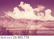 Купить «Views of landscape near RN 7, Patagonia, Argentina», фото № 29485718, снято 10 февраля 2017 г. (c) Яков Филимонов / Фотобанк Лори