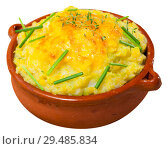 Купить «Potato gratin with whipped eggs», фото № 29485834, снято 22 марта 2019 г. (c) Яков Филимонов / Фотобанк Лори