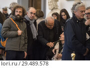 Купить «Giuseppe Tornatore, Citto Maselli during the homage to Bernardo Bertolucci in Rome, Italy - 27 Nov 2018.», фото № 29489578, снято 27 ноября 2018 г. (c) age Fotostock / Фотобанк Лори