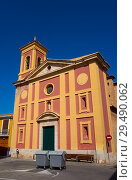 Купить «Borboto village church in Valencia of Spain.», фото № 29490062, снято 29 октября 2017 г. (c) easy Fotostock / Фотобанк Лори