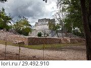 Купить «Maya archeological site of Chichen Itza in Yucatan, Mexico», фото № 29492910, снято 1 февраля 2010 г. (c) Куликов Константин / Фотобанк Лори
