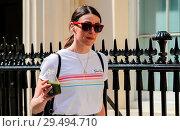 Купить «Suranne Jones and Jason Watkins arrive for a matinee performance of 'Frozen' at Theatre Royal Haymarket Featuring: Suranne Jones Where: London, United Kingdom When: 21 Apr 2018 Credit: WENN.com», фото № 29494710, снято 21 апреля 2018 г. (c) age Fotostock / Фотобанк Лори