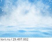 Купить «Christmas bright background», фото № 29497002, снято 25 ноября 2018 г. (c) Икан Леонид / Фотобанк Лори