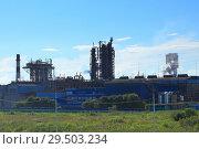 Химический завод (2016 год). Стоковое фото, фотограф Дмитрий Воробьев / Фотобанк Лори