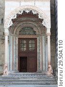 Capella Coleoni, Upper town of Bergamo, Italy (2014 год). Стоковое фото, фотограф Виталий Батанов / Фотобанк Лори