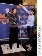 Купить «Spanish dancer Sara Baras gets measured for her wax figure at Wax Museum in Madrid Featuring: Sara Baras Where: Madrid, Spain When: 17 Apr 2018 Credit: Oscar Gonzalez/WENN.com», фото № 29506226, снято 17 апреля 2018 г. (c) age Fotostock / Фотобанк Лори