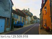 Купить «View of Bligny-sur-Ouche», фото № 29509918, снято 12 октября 2018 г. (c) Яков Филимонов / Фотобанк Лори