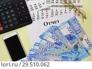 Купить «Подготовка финансового отчета», фото № 29510062, снято 11 ноября 2018 г. (c) Наталья Гармашева / Фотобанк Лори