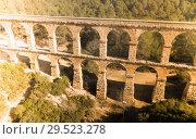 Купить «Pont del Diable, Tarragona», фото № 29523278, снято 31 января 2018 г. (c) Яков Филимонов / Фотобанк Лори