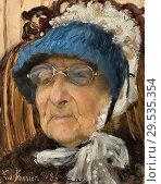 Bonnier Eva - Old Grandmother (Hanna Markus). Редакционное фото, фотограф Artepics / age Fotostock / Фотобанк Лори