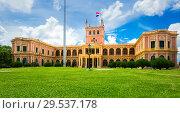 Купить «Palacio de los Lopez», фото № 29537178, снято 15 февраля 2017 г. (c) Яков Филимонов / Фотобанк Лори