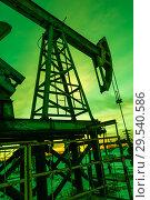 Купить «Oil pump», фото № 29540586, снято 25 октября 2016 г. (c) bashta / Фотобанк Лори