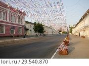 Вид на улицу Московскую. Город Муром. (2017 год). Редакционное фото, фотограф Анатолий Гуреев / Фотобанк Лори