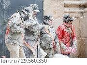 Купить «Traditional annual festival Els Enfarinats in Ibi», фото № 29560350, снято 28 декабря 2016 г. (c) Яков Филимонов / Фотобанк Лори