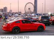 Купить «Ford Mustang», фото № 29590710, снято 15 ноября 2018 г. (c) Art Konovalov / Фотобанк Лори