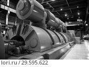 Купить «Котло-турбинный цех ТЭЦ», фото № 29595622, снято 2 июня 2008 г. (c) Александр Гаценко / Фотобанк Лори