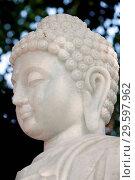Купить «Thien Hoa buddhist pagoda. Marble Buddha statue. Cai be. Vietnam.», фото № 29597962, снято 21 марта 2019 г. (c) age Fotostock / Фотобанк Лори