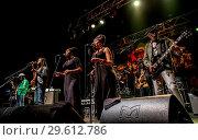 Купить «The Wailers performing live at the O2 Academy in Bournemouth Featuring: The Wailers Where: Bournemouth, United Kingdom When: 16 Mar 2018 Credit: WENN.com», фото № 29612786, снято 16 марта 2018 г. (c) age Fotostock / Фотобанк Лори