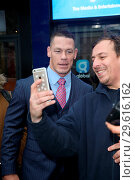 John Cena seen at Global studios to promote his new movie 'Blockers'. (2018 год). Редакционное фото, фотограф Michael Wright / WENN.com / age Fotostock / Фотобанк Лори