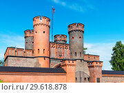 Купить «Фридрихсбургские ворота. Калининград», эксклюзивное фото № 29618878, снято 9 июля 2018 г. (c) Александр Щепин / Фотобанк Лори
