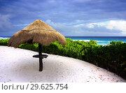 Карибский пляж. Стоковое фото, фотограф Дмитрий Бакулин / Фотобанк Лори