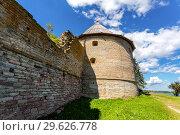 Купить «Historical fortress Oreshek is an ancient Russian fortress», фото № 29626778, снято 8 августа 2018 г. (c) FotograFF / Фотобанк Лори