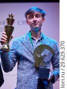 Купить «World Rapid Chess Champion Daniil Dubov, Russia», фото № 29629370, снято 30 декабря 2018 г. (c) Stockphoto / Фотобанк Лори