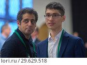 Купить «Grandmaster Alireza Firouzja, Iran», фото № 29629518, снято 30 декабря 2018 г. (c) Stockphoto / Фотобанк Лори
