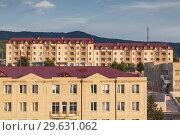 Nagorno Karabakh Republic, Stepanakert, newly built apartment blocks. Стоковое фото, фотограф Walter Bibikow / age Fotostock / Фотобанк Лори