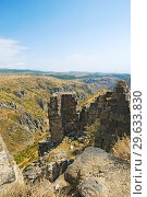 Купить «Вид на горную долину из крепости Амберд», фото № 29633830, снято 21 сентября 2018 г. (c) Инна Грязнова / Фотобанк Лори