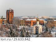 Купить «Троицкий парк (бывший Ленинский парк) в городе Бузулуке. Январь 2019 года.», фото № 29633842, снято 1 января 2019 г. (c) Наталья Жесткова / Фотобанк Лори