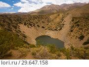 Купить «Lake Pozo de las Animas, Andes», фото № 29647158, снято 9 февраля 2017 г. (c) Яков Филимонов / Фотобанк Лори