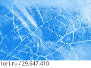 Купить «Abstract ice background», фото № 29647410, снято 5 января 2019 г. (c) Икан Леонид / Фотобанк Лори