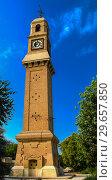 Купить «Al-Qashla Clock clocktower Baghdad Iraq», фото № 29657850, снято 31 октября 2011 г. (c) Сергей Майоров / Фотобанк Лори