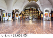 Купить «Interior of the Church of the Presentation of the Blessed Virgin in the Temple», фото № 29658054, снято 8 июля 2018 г. (c) FotograFF / Фотобанк Лори