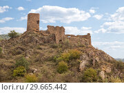 Купить «Slesa Fortress, Georgia», фото № 29665442, снято 26 сентября 2018 г. (c) Юлия Бабкина / Фотобанк Лори