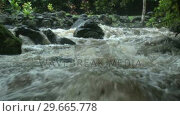 Купить «Stock Footage River», видеоролик № 29665778, снято 22 апреля 2019 г. (c) Wavebreak Media / Фотобанк Лори