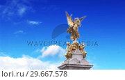 Купить «Buckingham Palace 4», видеоролик № 29667578, снято 23 мая 2019 г. (c) Wavebreak Media / Фотобанк Лори