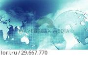 Купить «HD Motion Business Background 4», видеоролик № 29667770, снято 21 февраля 2019 г. (c) Wavebreak Media / Фотобанк Лори