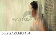 Купить «Woman enjoying the spa center», видеоролик № 29683154, снято 2 октября 2012 г. (c) Wavebreak Media / Фотобанк Лори