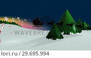 Купить «Illustration of christmas greeting», видеоролик № 29695994, снято 20 декабря 2016 г. (c) Wavebreak Media / Фотобанк Лори
