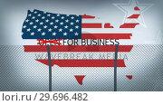Купить «Conceptual borders animation for business opening», видеоролик № 29696482, снято 19 августа 2019 г. (c) Wavebreak Media / Фотобанк Лори
