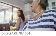 Купить «Senior woman talking to her daughter while ironing 4K 4k», видеоролик № 29707654, снято 20 марта 2017 г. (c) Wavebreak Media / Фотобанк Лори